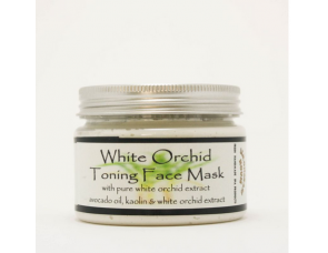 White Orchid Toning Face Mask 150ml