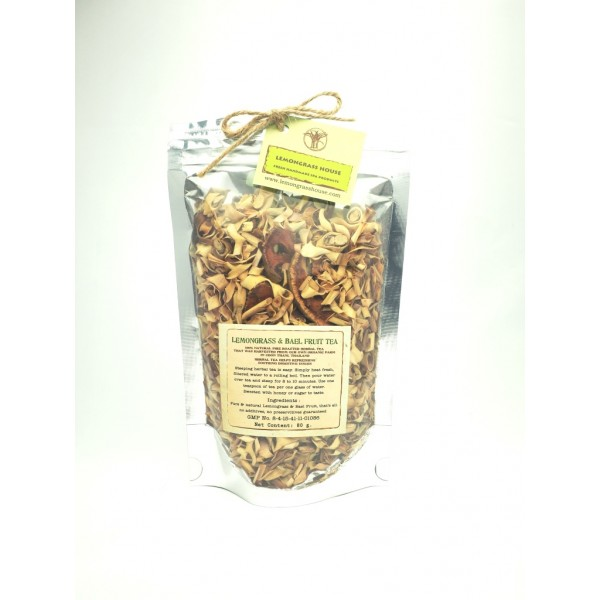 Lemongrass + Bael Fruit Tea (80g)