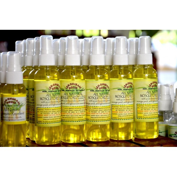 All Natural Mosquito Repellent Spray